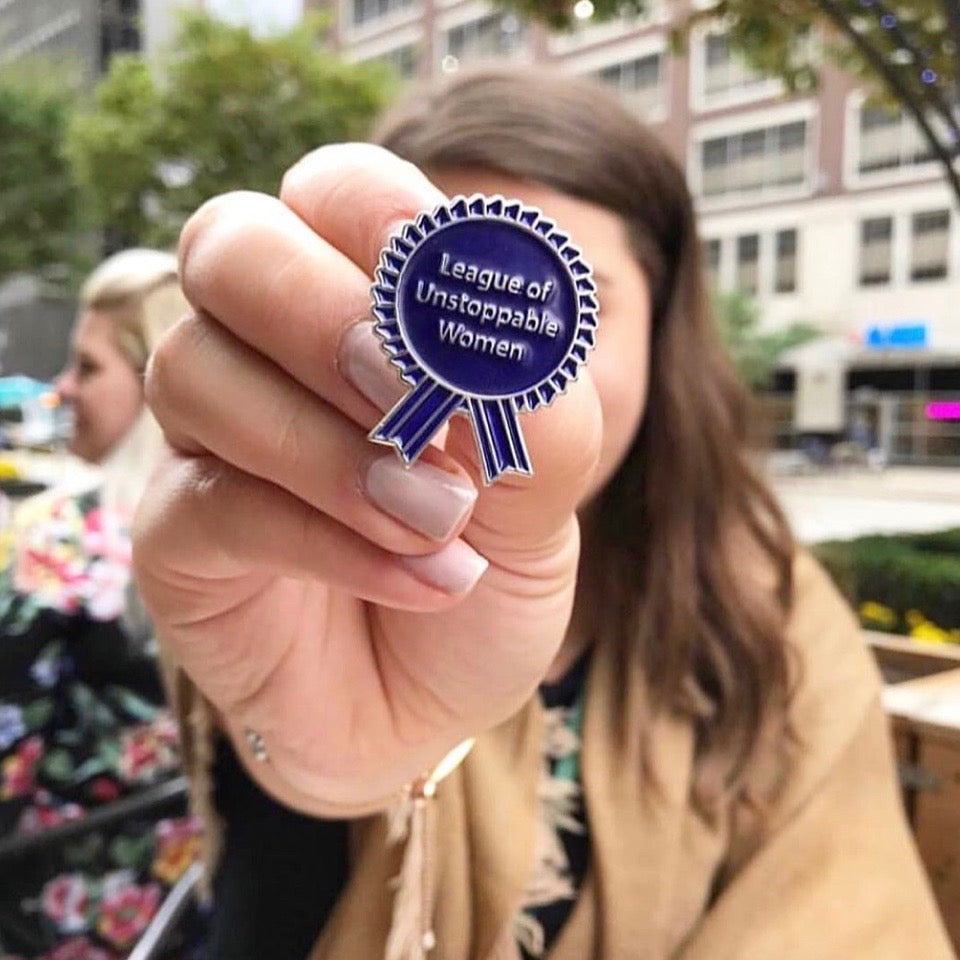 The League: League Of Unstoppable Women Pin