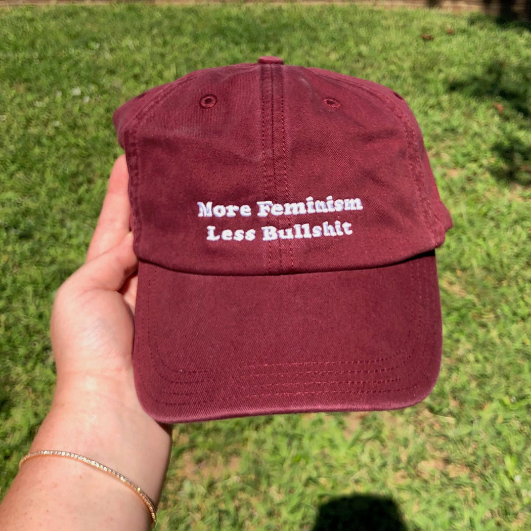 More Feminism, Less Bullshit Hat