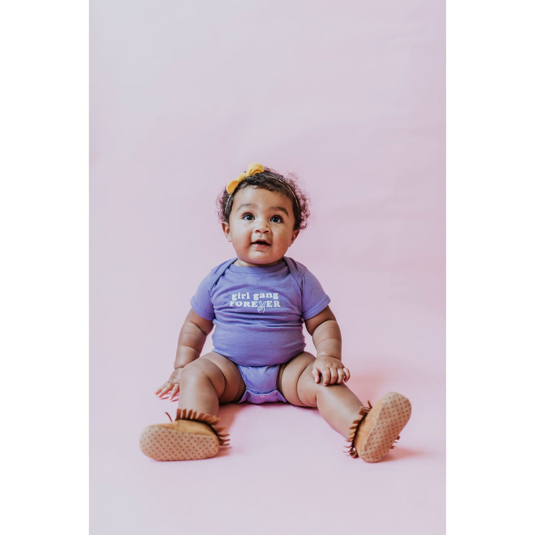 Girl Gang Forever Onesie, Purple