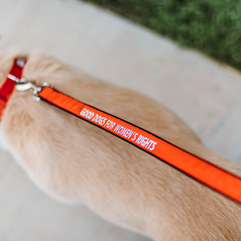 Good Dogs For Women's Rights, Leash