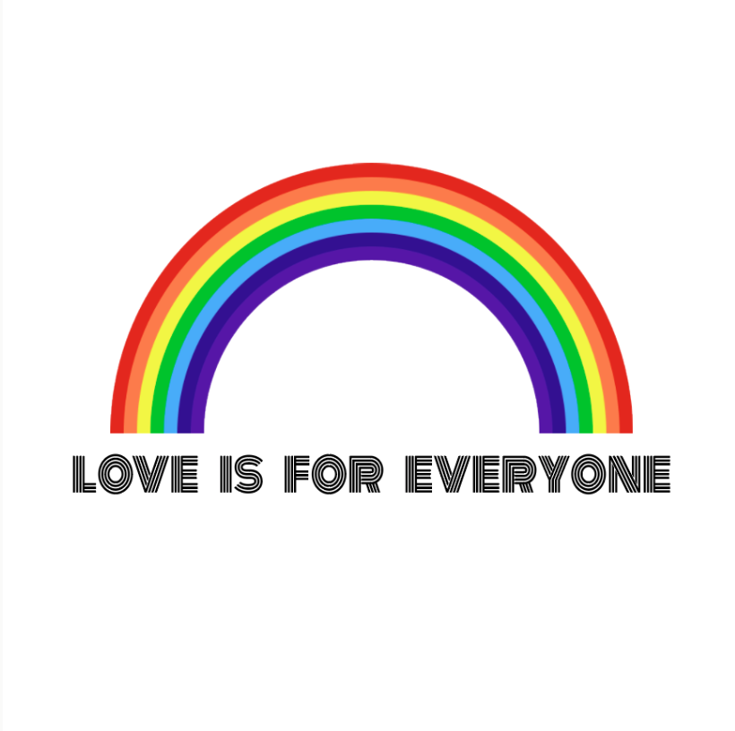 Love Is For Everyone Print