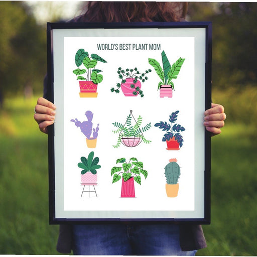 World's Best Plant Mom Print