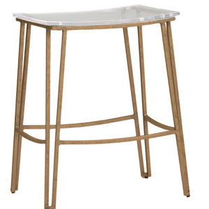 Pierce Counter Stool-Antique Gold