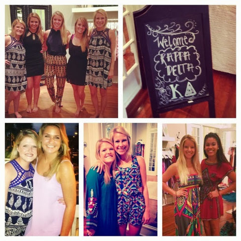 Sassy Shortcake Boutique Kappa Delta Event