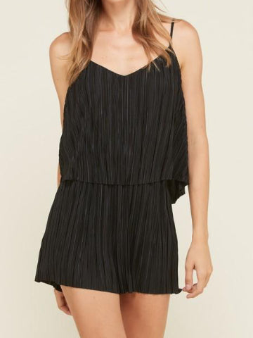 Truth Hurts Romper | Black