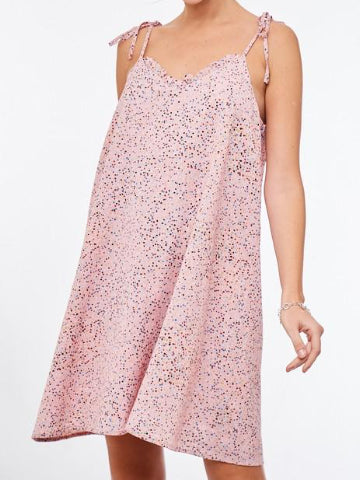 Good Side Pink Confetti Summer Dress | Sassy Shortcake | sassyshortcake.com