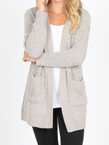 Wishing and Waiting Cardigan | Light Grey