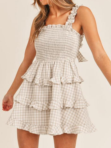 Posie Picnic Dress | Fawn