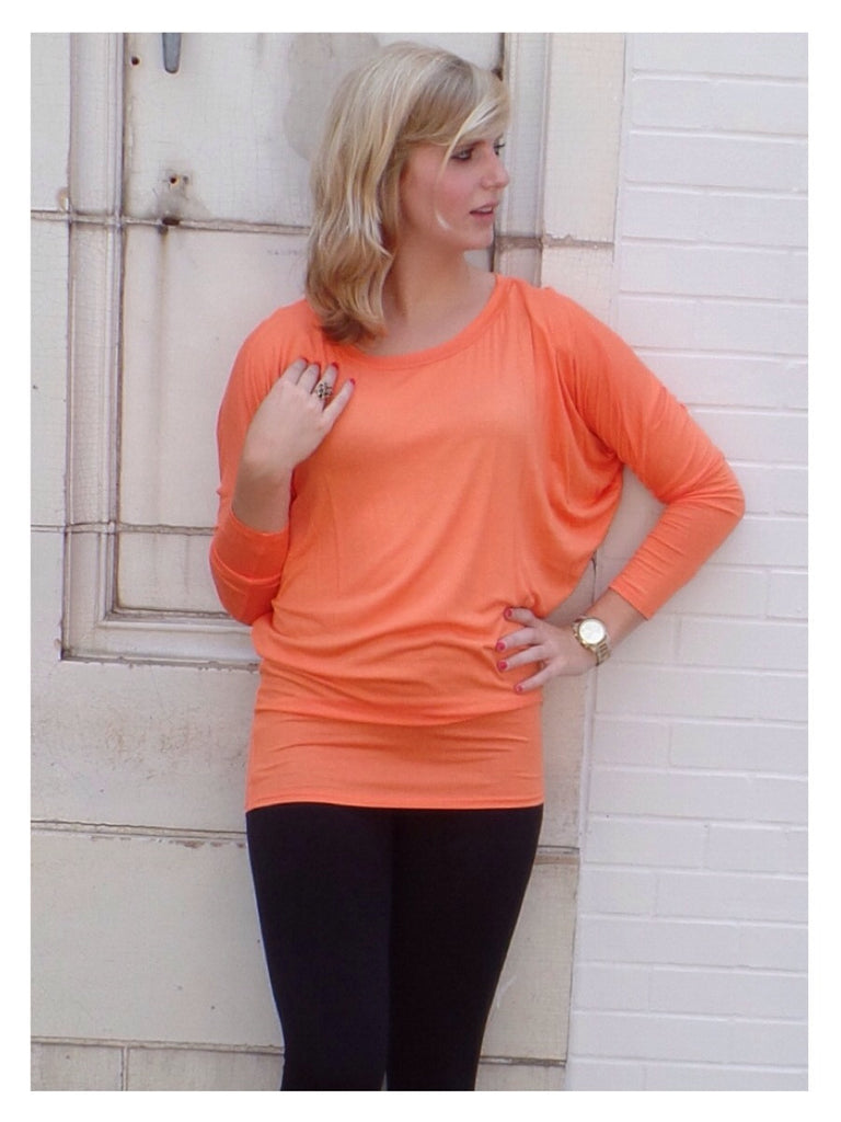 Liquid Love 2 Top - Orange