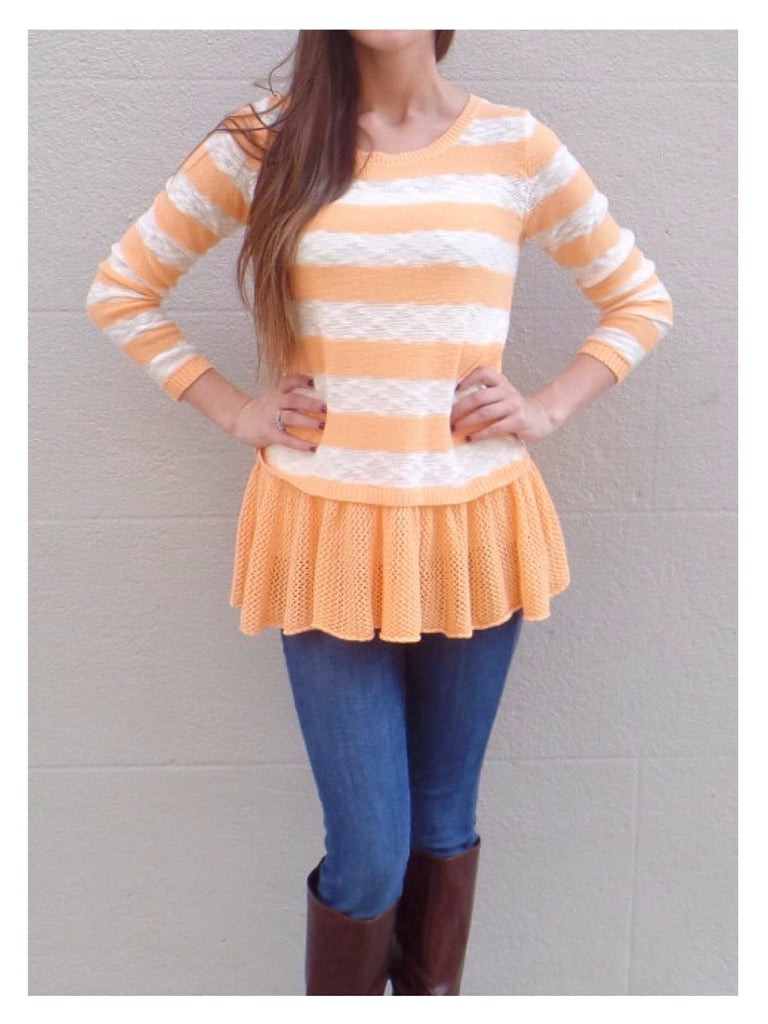 Stripes and Spice Top