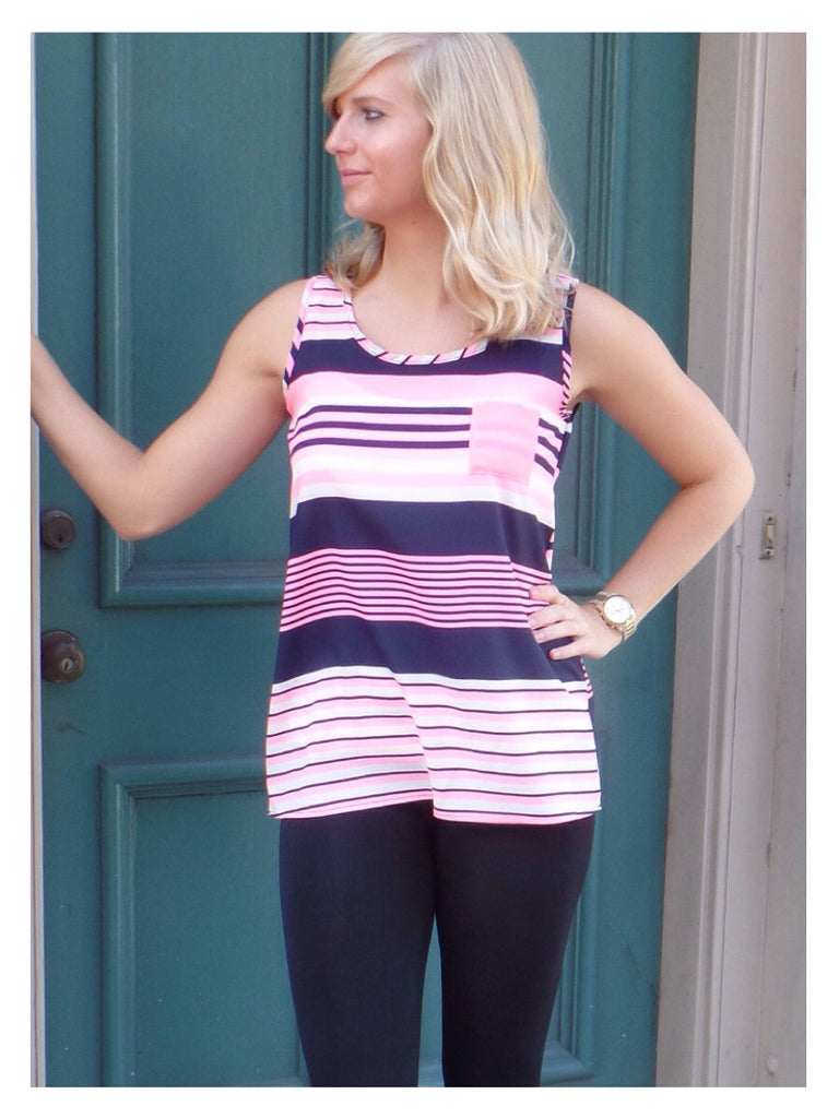 Stay Sassy in Stripes Top