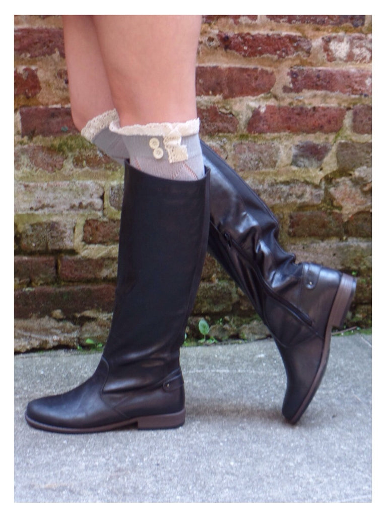 Fall Frenzy Boots - Black
