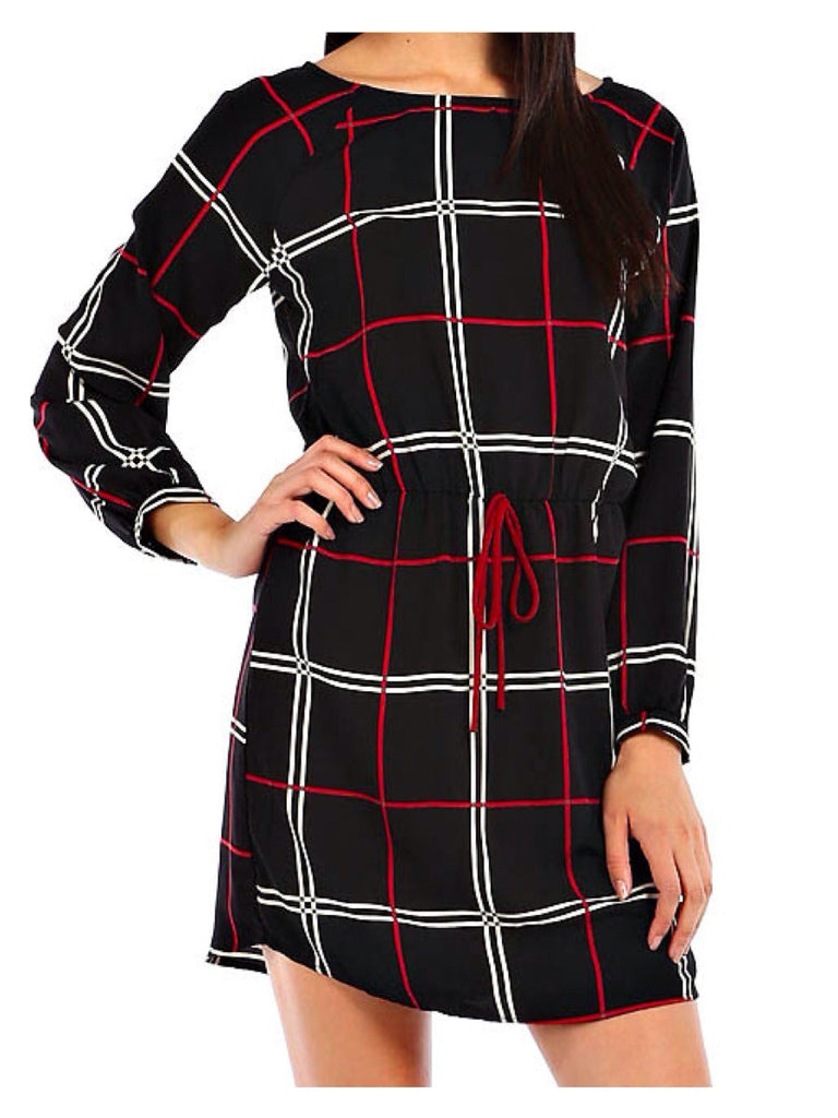 Plaid Piper Dress