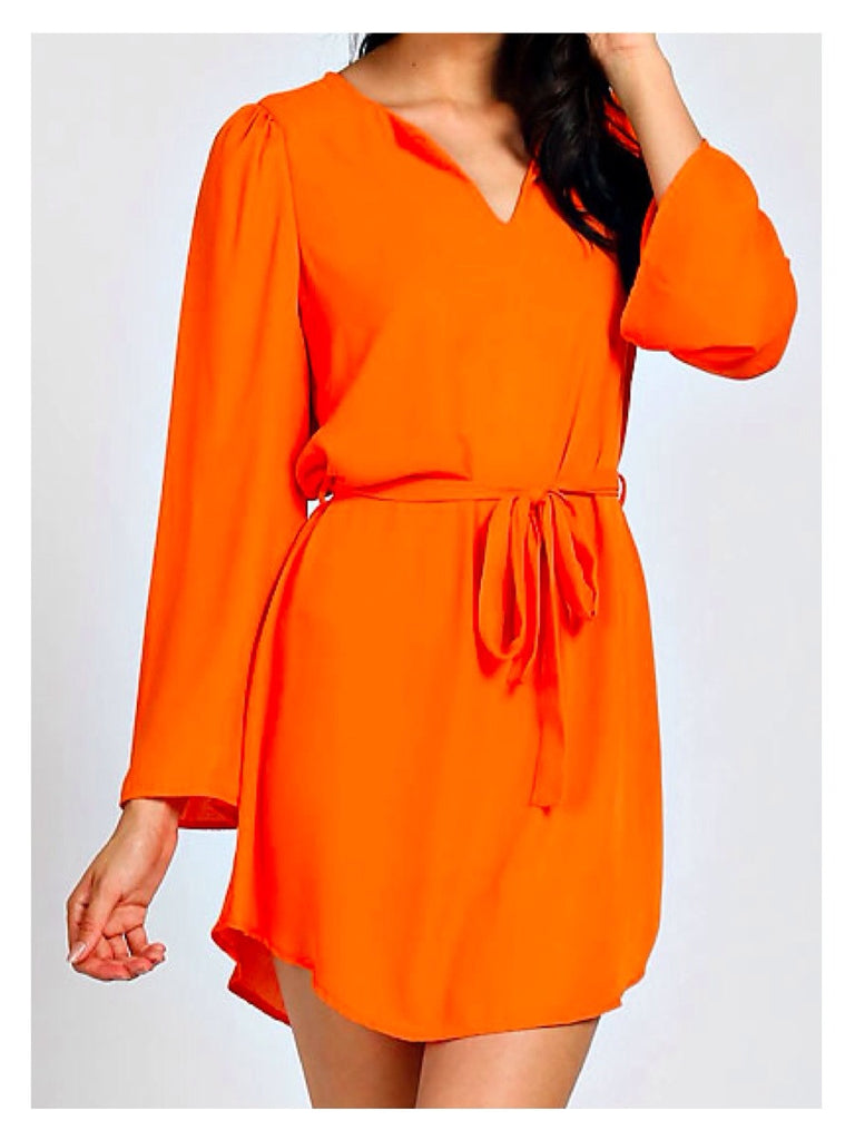 Orange Sunset Dress