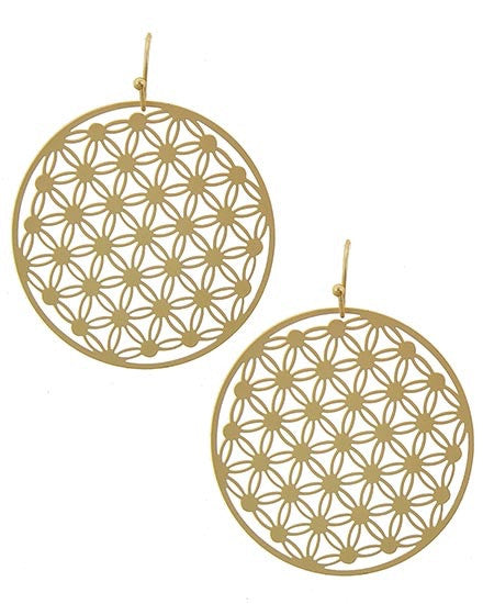 Gold Ashton Earrings