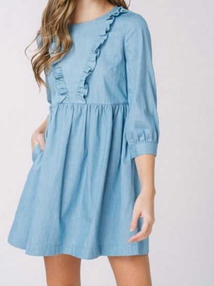 oh my posh dress | sassyshortcake.com | sassy shortcake boutique