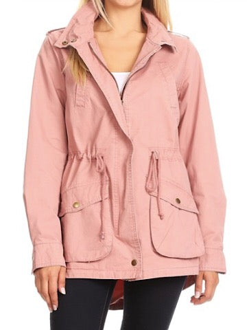 Make Your Move Pink Utility Jacket | Sassy Shortcake | sassyshortcake.com