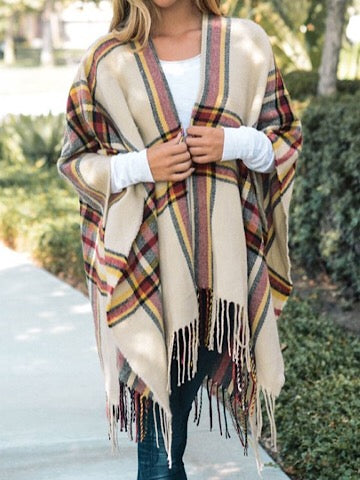 Plaid About You Wrap