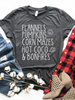 Flannels and Fall Graphic Tee | sassyshortcake.com | Sassy Shortcake Boutique