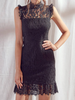 lovely lace black dress | sassyshortcake.com | sassy shortcake