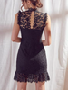 ovely lace black dress | sassyshortcake.com | sassy shortcake
