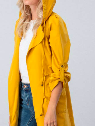 On My Way Jacket | Mustard