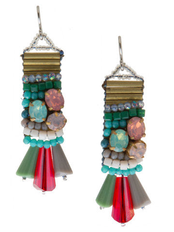 Color Crush Beaded Earrings | Sassy Shortcake | sassyshortcake.com