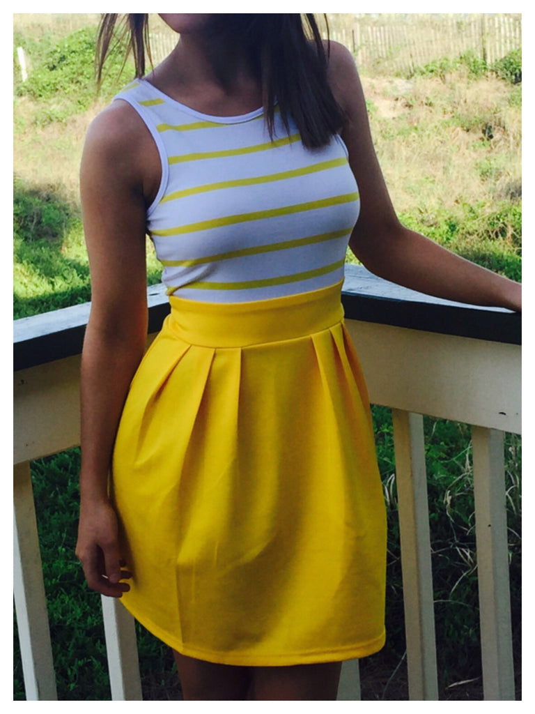Ocean Avenue Sunshine Dress | Sassy Shortcake Boutique