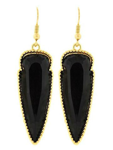 Black Arrowhead Earring Set | Sassy Shortcake