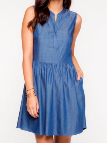 Chambray Kisses Dress
