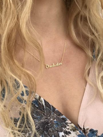 charleston gold necklace | sassyshortcake.com | sassy shortcake