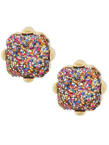 funfetti earrings | sassy shortcake