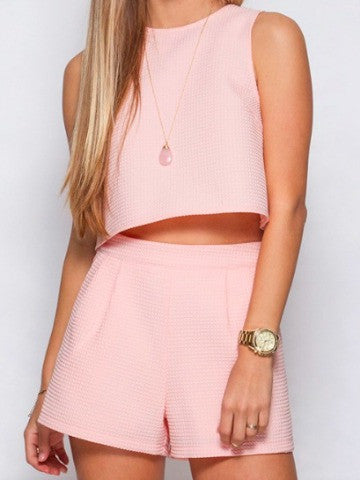 Crop Top and Shorts | Separates | sassyshortcake.com | Sassy Shortcake