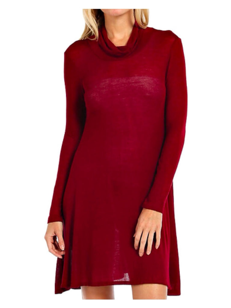 Lexie Dress ~ Wine