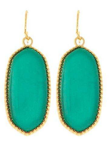 Dangle Darling Emerald Earring Set | sassyshortcake.com