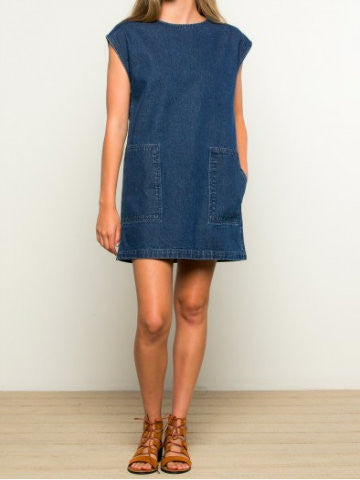 Memory Lane Denim Dress | Sassy Shortcake