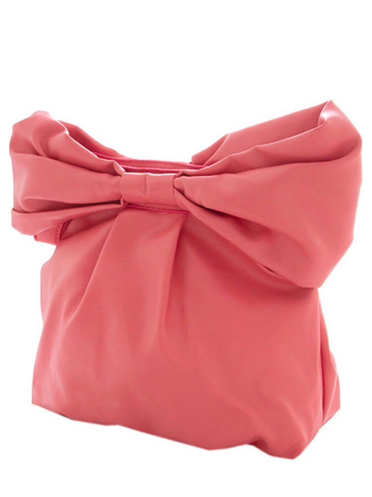 Pink Bow Clutch Bag | Sassy Shortcake Boutique