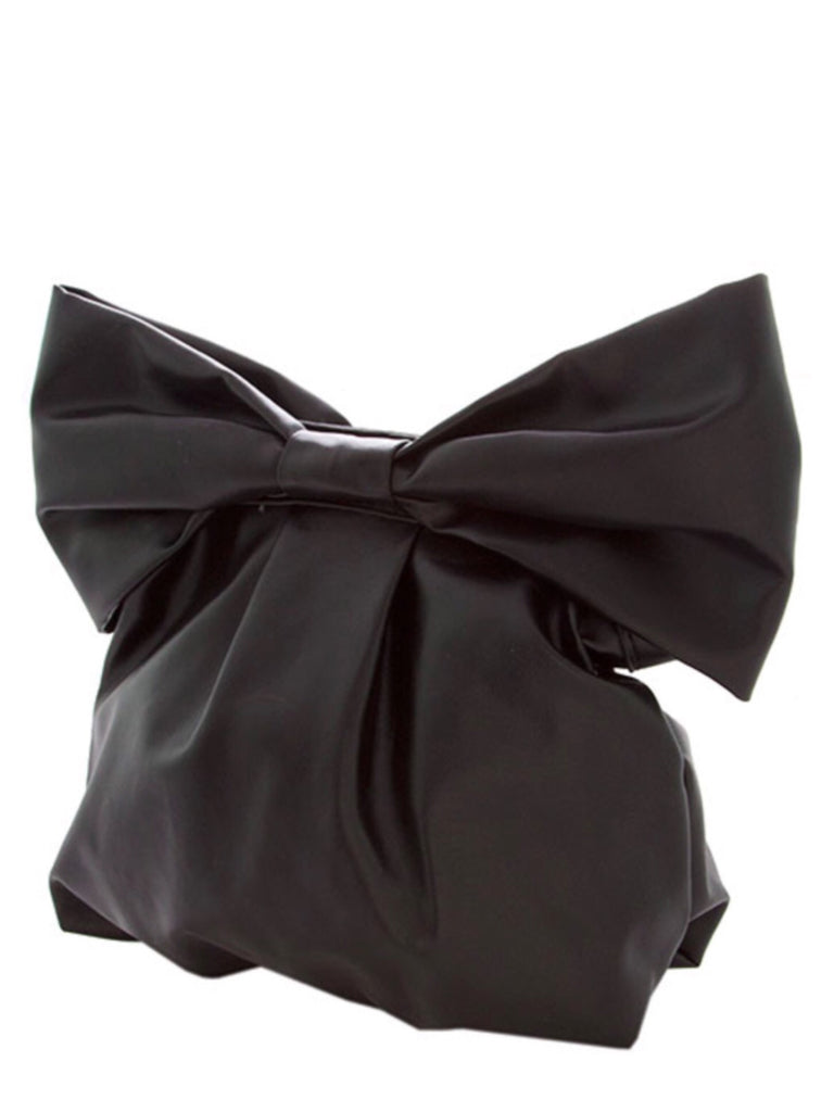 Black Bow Clutch Bag | Sassy Shortcake Boutique