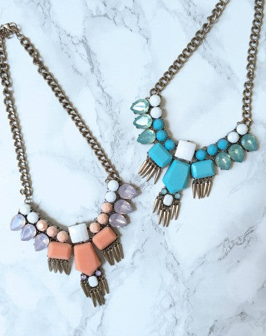 aztec statement necklace | sassyshortcake
