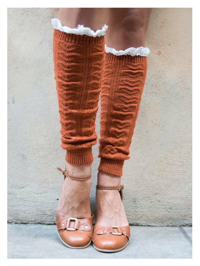 Pumpkin Leg Warmers