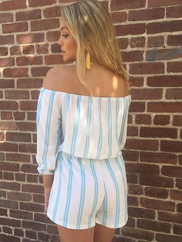 Seaside Breeze Romper