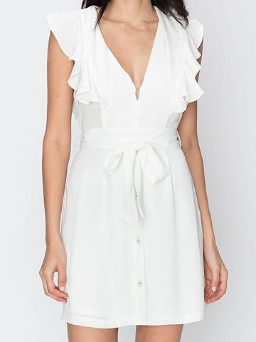 Resurrected White Dress | sassy shortcake | sassyshortcake.com