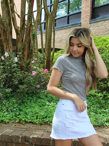 Never Enough Striped Top | Sassy Shortcake | sassyshortcake.com