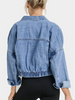 Going Steady Crop Denim Jacket | Sassy Shortcake | sassyshortcake.com