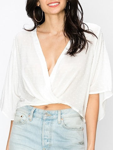 Escape Route Top White | sassyshortcake.com | Sassy Shortcake