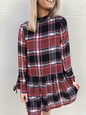 Good Girls Gone Plaid Dress