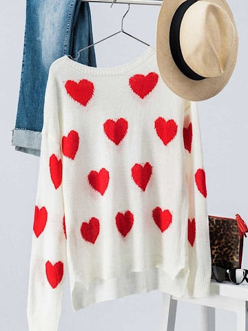 Love Language Heart Sweater | sassyshortcake.com | Sassy Shortcake Boutique