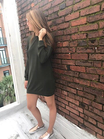 Back To Basic Dress | Olive