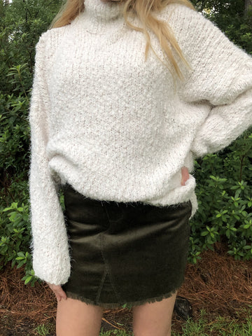 Autumn Breeze Skirt | Olive