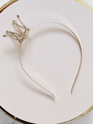 Crown Me Queen Headband | sassyshortcake.com | sassy shortcake